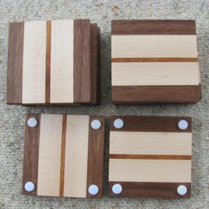 Maple_Walnut_Rosewood_Coasters